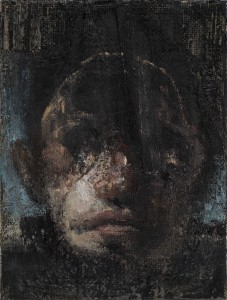 Small head study, 2012-14, oil on linen, 24x18 cm
