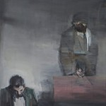 After the piano lesson, 2012-13, oil on linen, 205x175 cm