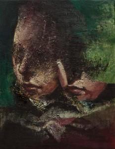Double Portrait, 2015-17, oil on    canvas, 45x35 cm-1