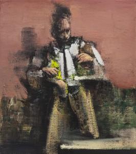 The Alchemist, 2016-17, oil on canvas, 45x40 cm