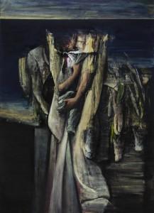 The Construction, 2017-19, oil on canvas, 230x160 cm