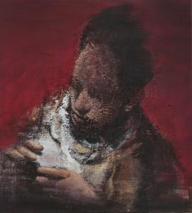 The Fingers, 2016-17, oil on linen,    50x45 cm