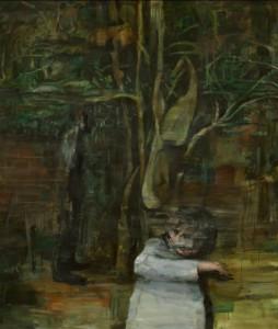 The garden, 2011, oil on linen, 205x175 cm
