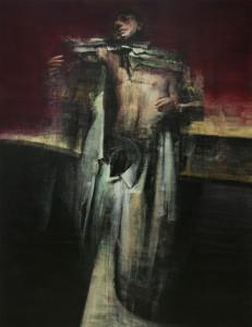 Vestīre, 2017-19, oil on canvas, 180x140 cm