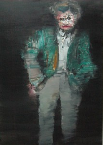 Untitled, 2011, oil on linen, 140x100 cm
