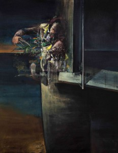 The Gardener, 2014-16, oil on linen, 200x160cm