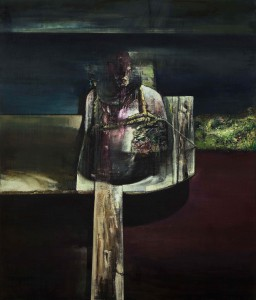Torso, 2012-16, oil on linen, 205x175 cm